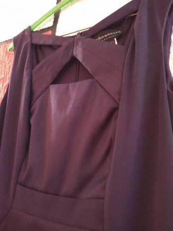 Foto Carousel Producto: Vestido morado oscuro GoTrendier