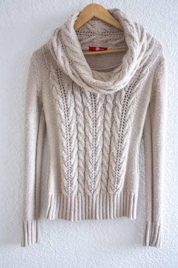 Foto Carousel Producto: Suéter tejido rosa claro  GoTrendier