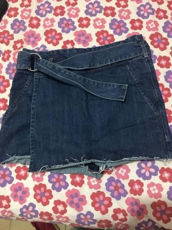 Foto Carousel Producto: Short falda de mezclilla GoTrendier