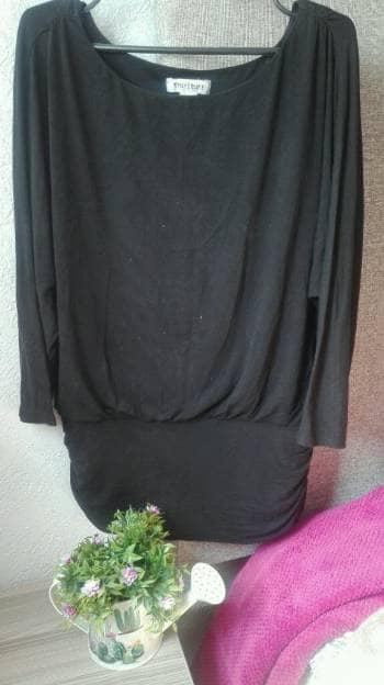 Foto Carousel Producto: Blusa básica negra  GoTrendier