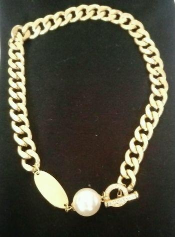 Foto Carousel Producto: Hermosa gargantilla con perla GoTrendier