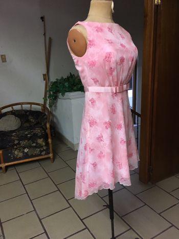 Foto Carousel Producto: Vestido chifon con desnivel GoTrendier