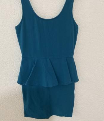 Foto Carousel Producto: Vestido de lapiz azul GoTrendier
