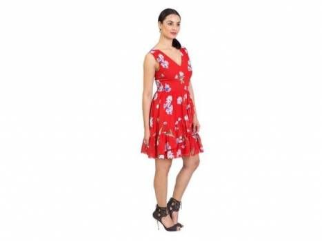 Foto Carousel Producto: Vestido Rue de la paix rojo talla 6 GoTrendier