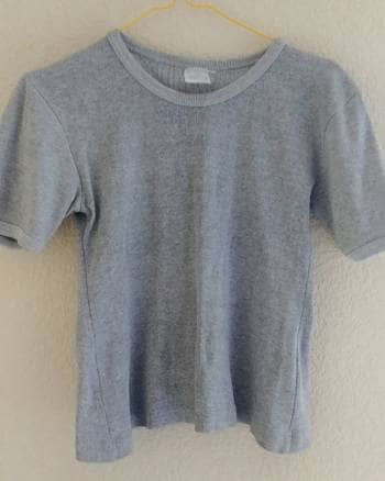 Foto Carousel Producto: Blusa algodon gris  GoTrendier