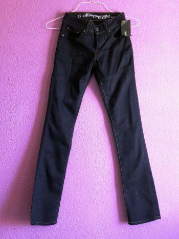 Foto Carousel Producto: Pantalón de Mezclilla azul marino GoTrendier