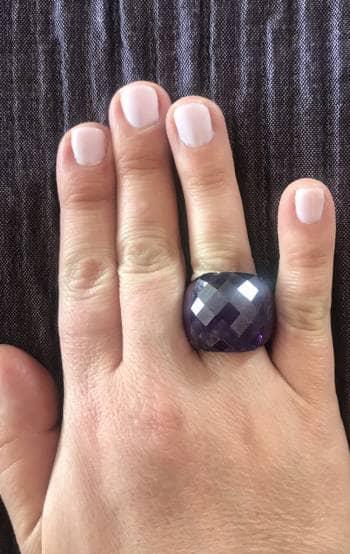 Foto Carousel Producto: Anillo de cristal daniel espinoza GoTrendier