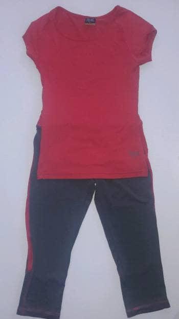 Foto Carousel Producto: Conjunto deportivo leggings y playera GoTrendier