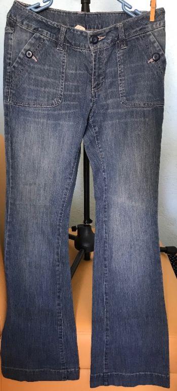 Foto Carousel Producto: Pantalones acampanados algodón orgánico GoTrendier