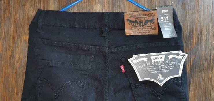 Foto Carousel Producto: Jeans Negro GoTrendier