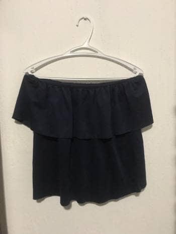 Foto Carousel Producto: Blusa de hombros descubiertos gamuza GoTrendier