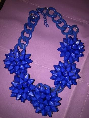 Foto Carousel Producto: Collar azul rey GoTrendier