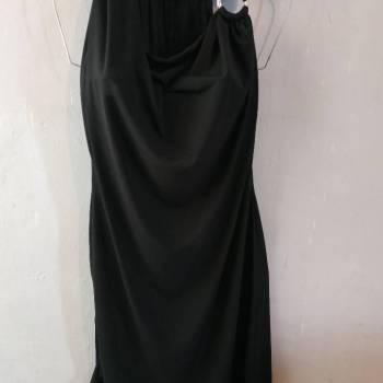 Foto Carousel Producto: Vestido negro elegante con argolla GoTrendier