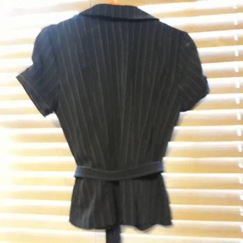 Foto Carousel Producto: Saco manga corta rayado GoTrendier