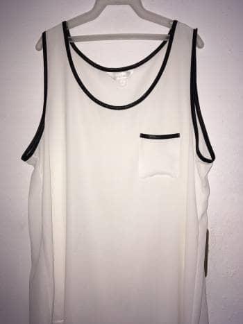 Foto Carousel Producto: Blusa ? blanca transparente GoTrendier