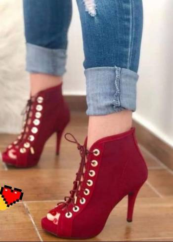 Foto Carousel Producto: Botines rojos GoTrendier