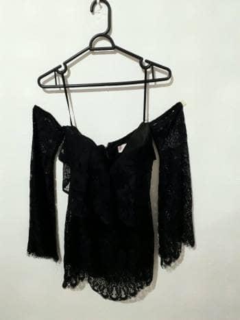 Foto Carousel Producto: Vestido corto  negro GoTrendier