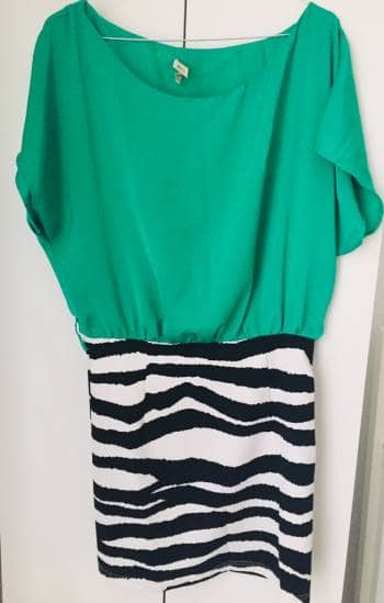 Foto Carousel Producto: Vestido verde GoTrendier