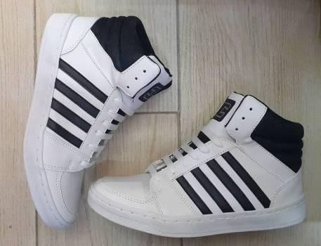 Foto Carousel Producto: Tenis nuevos blancos suela cosida. GoTrendier