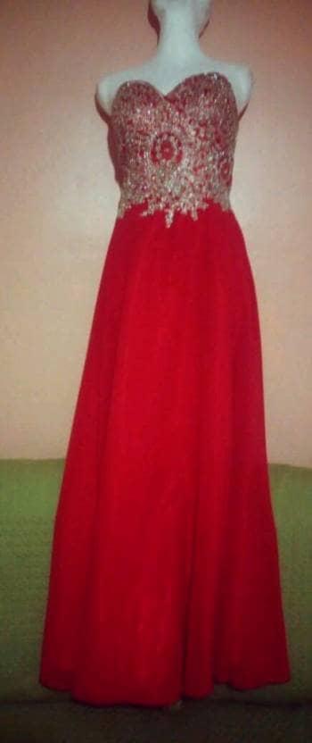 Foto Carousel Producto: Vestido rojo de graduación GoTrendier