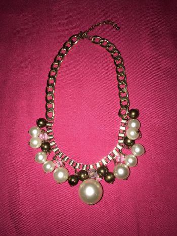 Foto Carousel Producto: Collar con perlas y piedritas al 2x1 GoTrendier