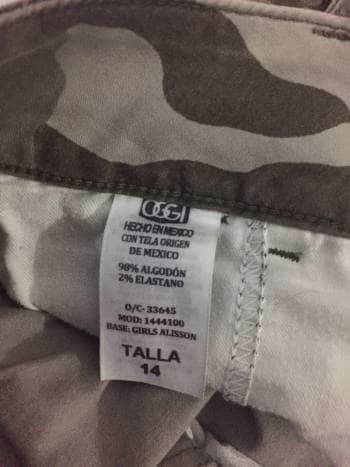Foto Carousel Producto: Pantalon Militar GoTrendier