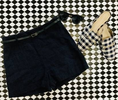 Foto Carousel Producto: Short Azul ZARA GoTrendier