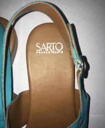 Foto Carousel Producto: Franco Sarto Sandalias verde agua GoTrendier