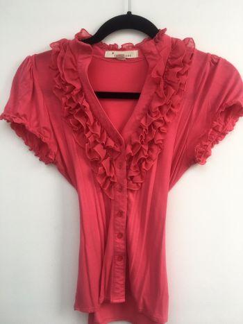 Foto Carousel Producto: Camisa con botones y olanes 2x1 GoTrendier
