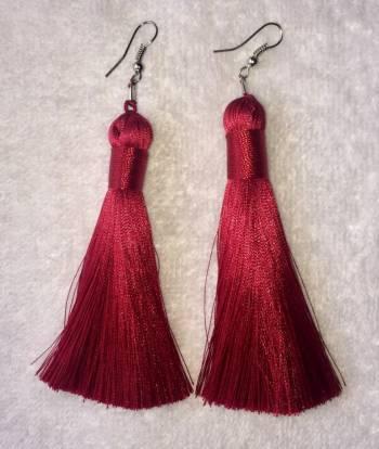 Foto Carousel Producto: Aretes textil GoTrendier