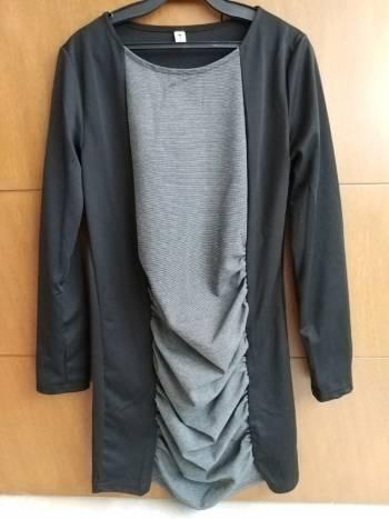 Foto Carousel Producto: Vestino negro/gris GoTrendier