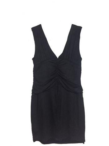 Foto Carousel Producto: Vestido corto terciopelo negro GoTrendier