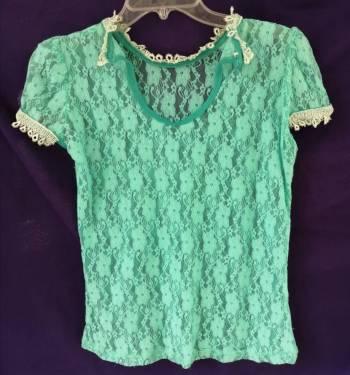 Foto Carousel Producto: Blusa azul turquesa GoTrendier