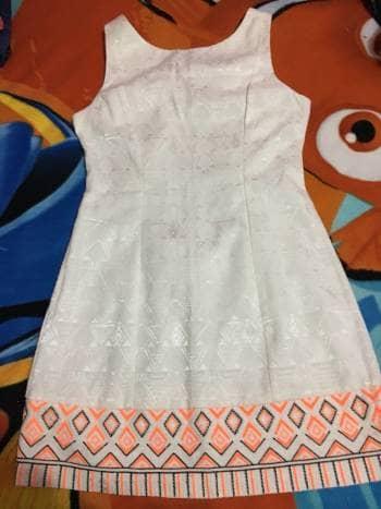 Foto Carousel Producto: Vestido crema GoTrendier