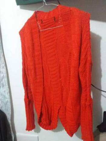 Foto Carousel Producto: Suéter abierto naranja 2X 150 GoTrendier