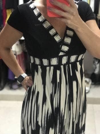 Foto Carousel Producto: 2 x $449 Vestido negro corto GoTrendier