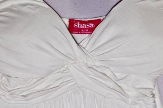 Foto Carousel Producto: Vestido blanco fresco Shasa  GoTrendier