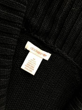 Foto Carousel Producto: Sueter negro Dockers *Promo 2x1* GoTrendier