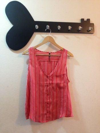 Foto Carousel Producto: Blusa rayas roja GoTrendier