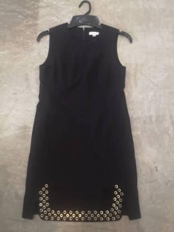 Foto Carousel Producto: Vestido negro calvin klein GoTrendier