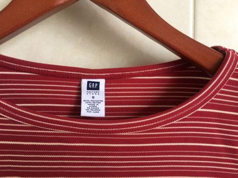 Foto Carousel Producto: Blusa sin mangas rayada GAP GoTrendier