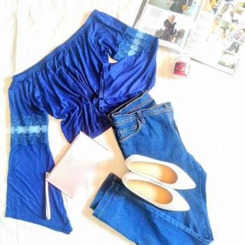Foto Carousel Producto: Blusa azul Marino Quarry GoTrendier