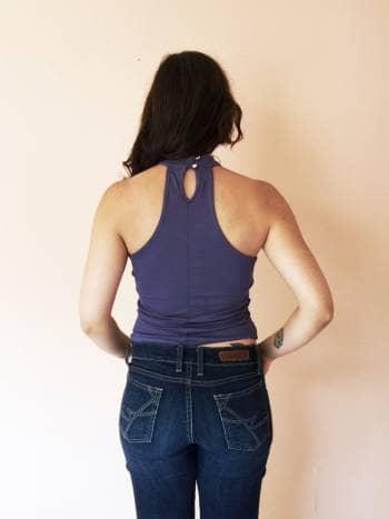 Foto Carousel Producto: Lisa blusa de cuello alto GoTrendier