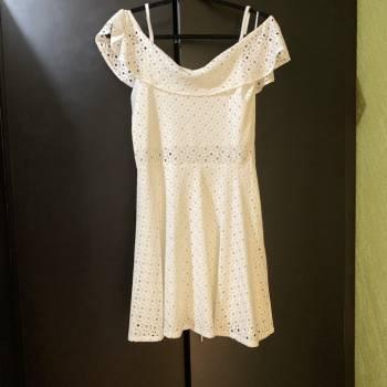 Foto Carousel Producto: Vestido blanco Sarah Bustani GoTrendier