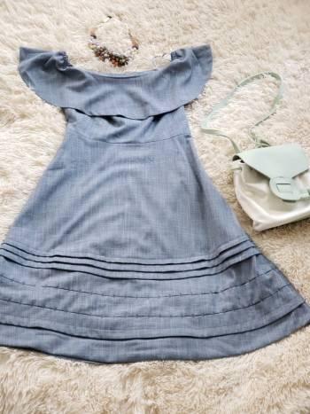 Foto Carousel Producto: Bonito vestido sin hombros GoTrendier