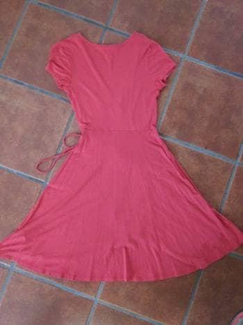 Foto Carousel Producto: Vestido Melón Cruzado GoTrendier