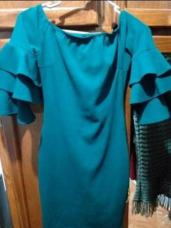 Foto Carousel Producto: Vestido verde esmeralda GoTrendier