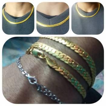 Foto Carousel Producto: Collar de chapa de oro GoTrendier