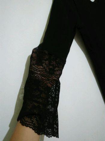 Foto Carousel Producto: Vestido con manga de encaje GoTrendier