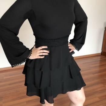 Foto Carousel Producto: Vestido de gasa de coctel GoTrendier